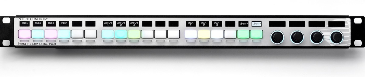 NTP-Technology-Penta-615-610A-Control-Panel